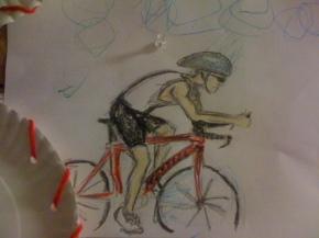 cyclistsketch