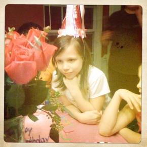 Happy 8th birthday Izzy!