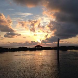 hawk's cay sunrise